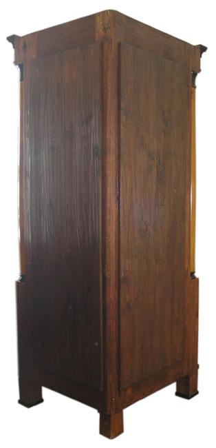 biedermeier eckvitrine kirsch furniert ebay. Black Bedroom Furniture Sets. Home Design Ideas
